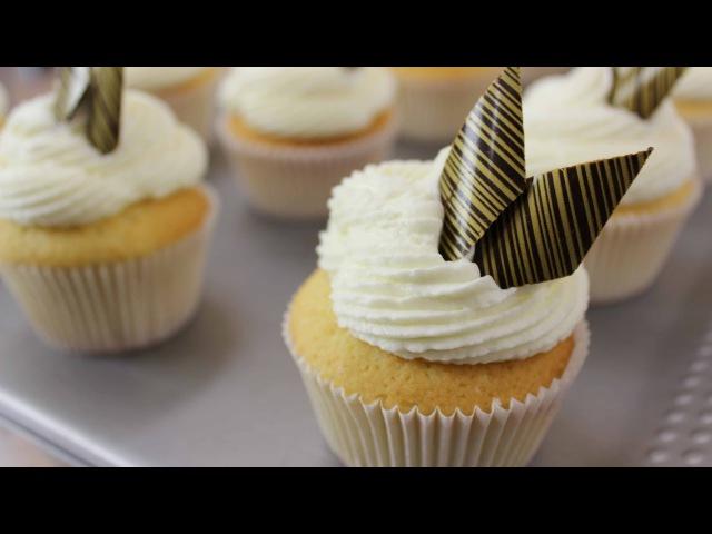 Капкейки. Рецепт ванильных капкейков со сливочной карамелью и крем-чизом.