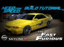 Need for Speed 2015 | The Fast The Furious Leon's Nissan Skyline Build Tutorial | How To Make