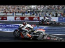 SUPER MOTO POWER BURNOUT DRAG RACING