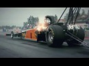 SUPER BURNOUT POWER CAR DRAG RACING