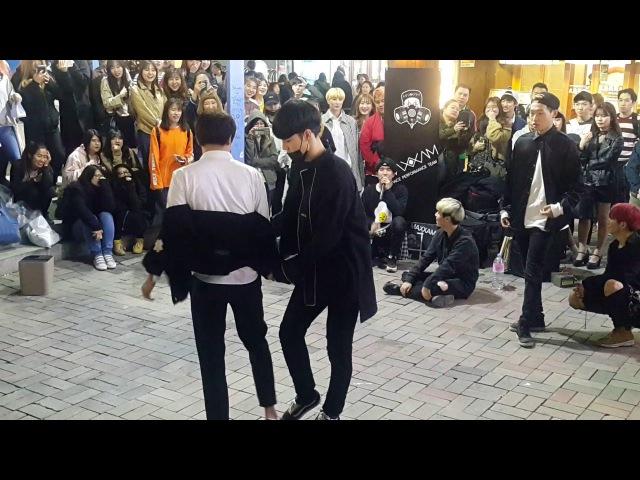 [Maxxam 댄스팀 맥스] 트러블메이커 ☆Trouble Maker☆ 커버안무 홍대댄스버스킹 20170419수 [Korean Hongdae Kpop Dance Busking]