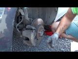 Замена тормозных колодок на авто Ford Focus