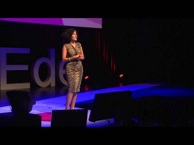 Dare to be feminine for gut's sake Kaouthar Darmoni TEDxEde