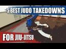 5 лучших бросков Дзюдо для Джиу-Джитсу