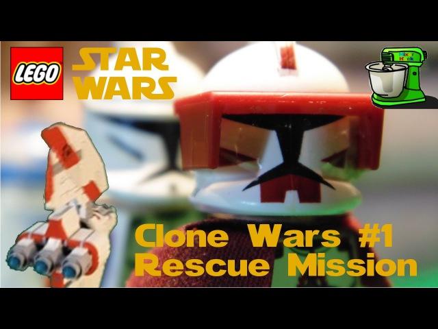 Lego Star Wars Clone Wars 1 Спасательная Операция
