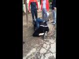 Реальная Драка Fight Кавказец получил от Русского