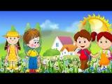 Вместе весело шагать по просторам - Веселая детская песенка!