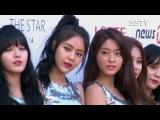 HD 161116 Black Pink, AOA, Mamamoo - Red Carpet @ Asia Artist Awards.