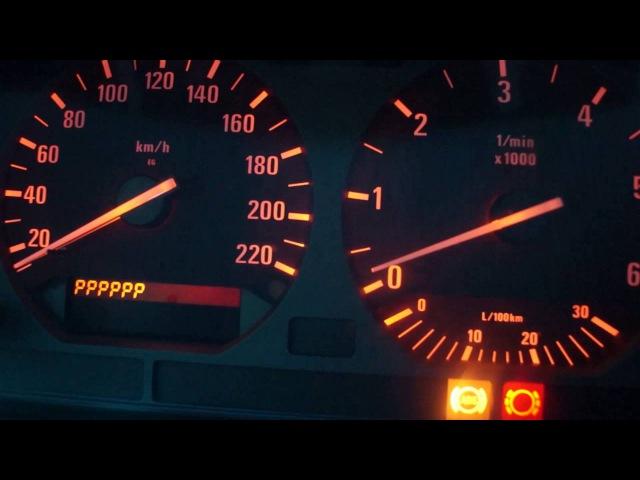 Кодирование приборной панели BMW E36