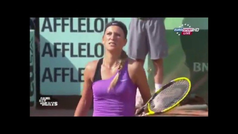 The funniest moments, 2011 French Open (Zap Eurosport)