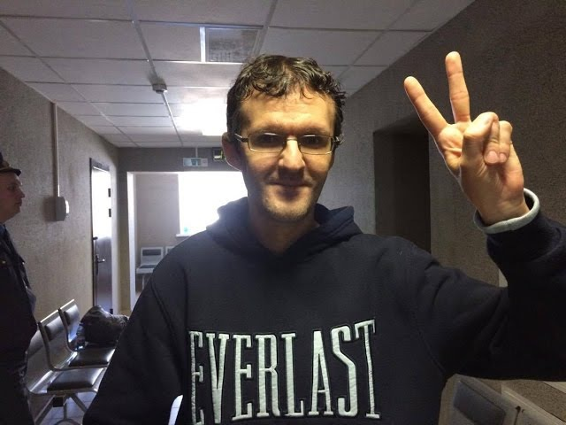 Dzianis Ivashin, InformNapalm journalist, detained in Minsk on Freedom Day