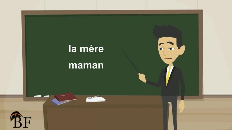 Урок французского языка 12 с нуля для начинающих- Ma famille (моя семья)-часть 1 » Freewka.com - Смотреть онлайн в хорощем качестве