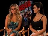 Disaster Movie Exclusive Carmen Electra and Kim Kardashian Interview