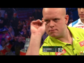 Michael van Gerwen vs Gerwyn Price (PDC World Series of Darts Finals 2016 / Round 2)