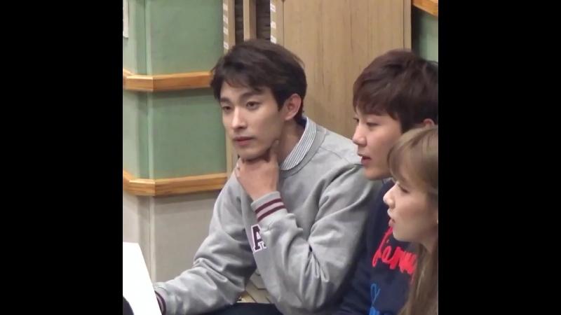 Seokmin's tongue