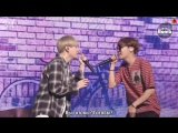 [RUS SUB][BANGTAN BOMB] BTS Vocal Duet SOPE-ME Stage behind the scene