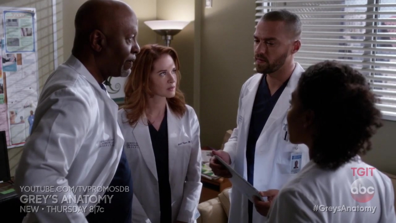 Промо Анатомия страсти (Grey's Anatomy) 13 сезон 11 серия
