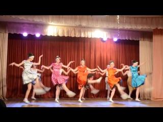 Танец на сцене -Королева красоты. Буги-вуги