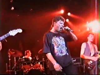 Группа Сектор газа-концерт в Москве, ДК Горбунова 1996 год
