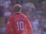 Гол Бекхэма в ворота Уимблдона с центра поля