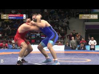 GOLD GR 75 kg Виктор Немеш (Сербия)-Элвин Мурсалиев (Азербайджан)