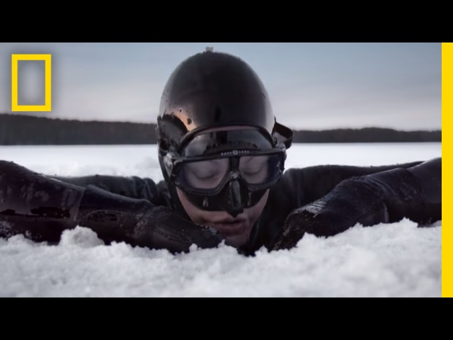 Arctic Free Diving Helped Save Her Leg - Now She Has a World Record   Short Film Showcase