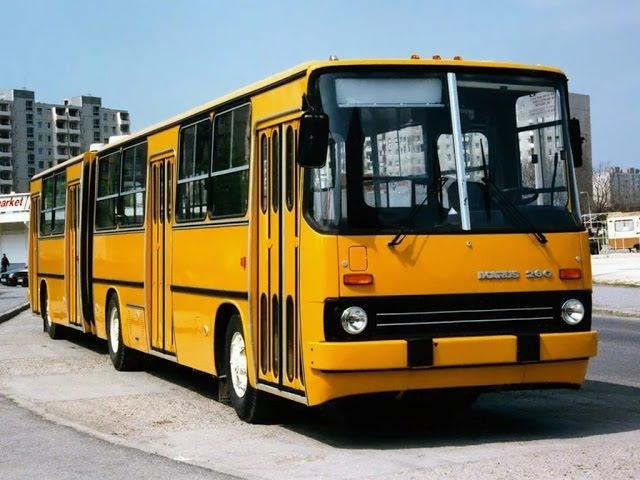 Икарус. История создания легендарного автобуса!