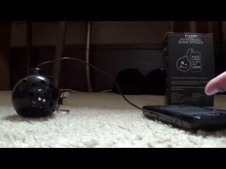 Портативный громкий динамик для телефона в виде бомбы