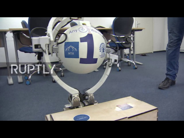 Russia: Meet AnyWalker, the live-in robot that can overcome 2 metre walls!