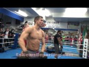 GENNADY GOLOVKIN IS RIPPED SHREDDED LIFTS WEIGHT BAR FOR HEAVYWEIGHTS WITH EASE - EsNews