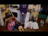 Помощь жителей г. Подольска семье в которой 13 человек из них 6 детей