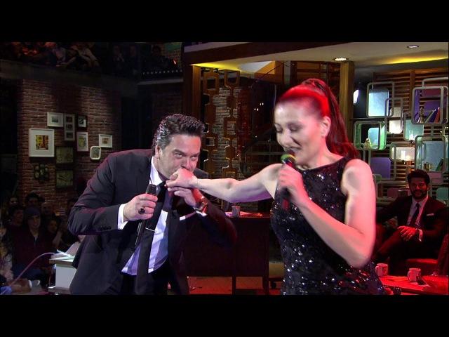 Beyaz Show - Candan Erçetin, Beyaz atışmasında canlı yayında mutlu son!