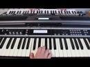 Восьмиклассница Виктор Цой и группа КИНО на синтезаторе Yamaha psr s670 Korg x50