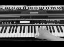 Виктор Цой и группа КИНО Печаль на синтезаторе Yamaha psr s670 Korg x50