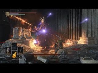Dark Souls 3 ► Глашатай ► Босс. Олдрик Пожиратель Богов. ► 25