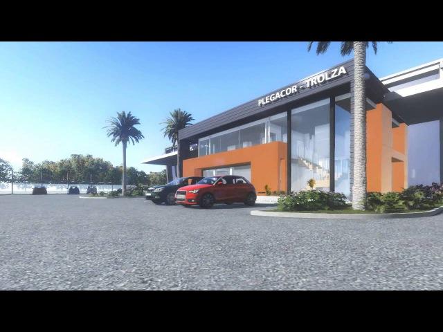 Видео Проек завода Тролза в Кордобе Plegacor Trolza Córdoba 2015