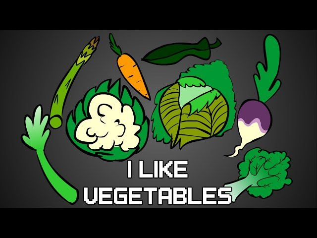 I Like Vegetables - Animation by Yusuf Iqbal, song by Parry Gripp