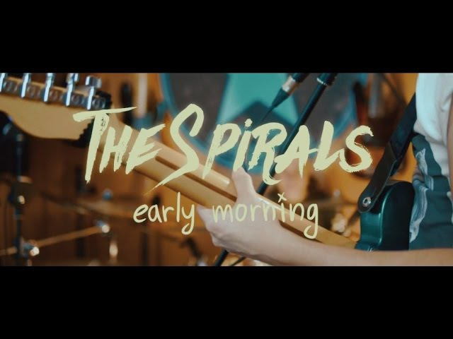 The Spirals - Early Morning (live at AngelDust Studio)