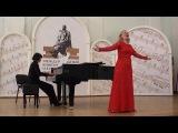 Елена Чеснокова, Elena Chesnokova, Дарья Смирнова концертмейстер, Darya Smirnova piano