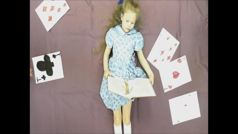 Буктрейлер по книге - Алиса в стране чудес. Льюис Кэролл.