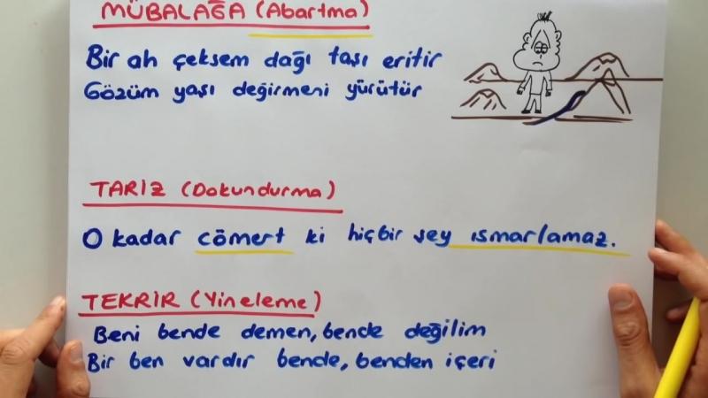 TEOG EDEBİ SANATLAR