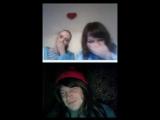 Взрослые школьницы смеются в видео чате по вебке над мужиком