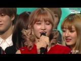 161120 Twice занимают первое место на Inkigayo и получают свою десятую награду с TT.