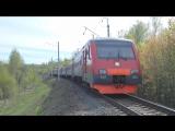 ЭМ2-020(ТЧ-31 Домодедово) на перегоне Жилёво-Сотниково