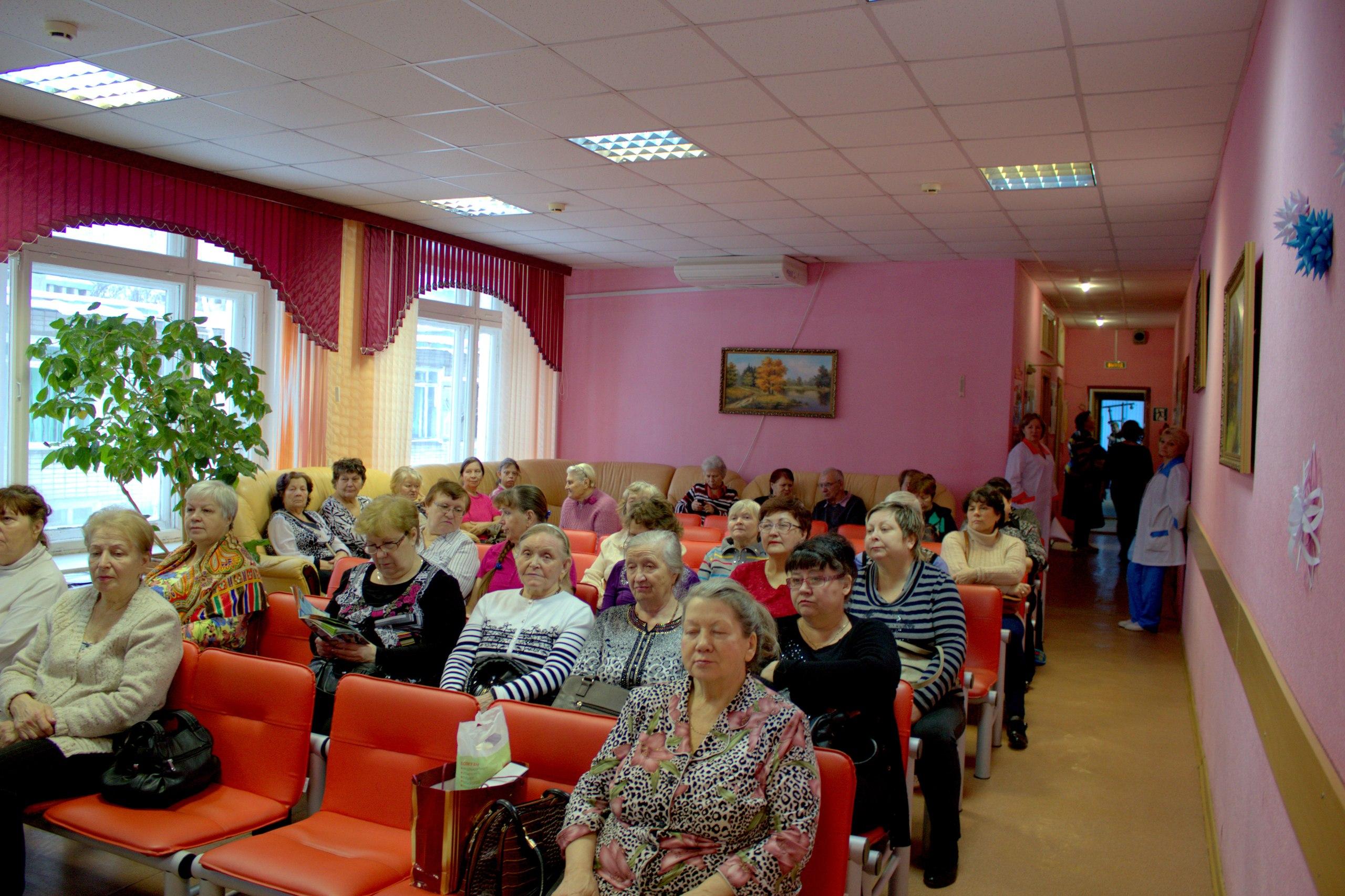 лекторий на тему Сахарный диабет и его осложнения в ГБУ КЦСОН Автозаводского района