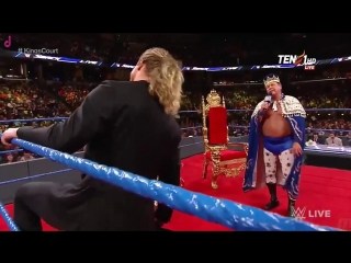 [WWE QTV]WWE[Smackdown Live] 17 January 2017] [Jerry s First Kings Court Show] Guest Dolph Ziggler [Full]