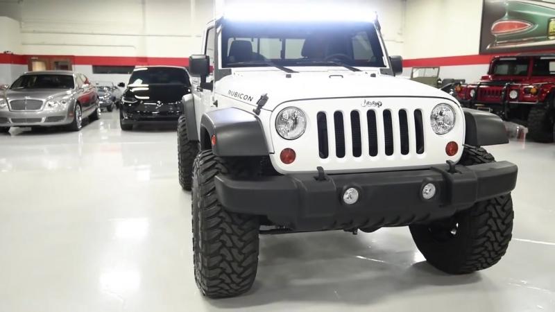 2013 Jeep Wrangler Unlimited Rubicon JK8 Conversion