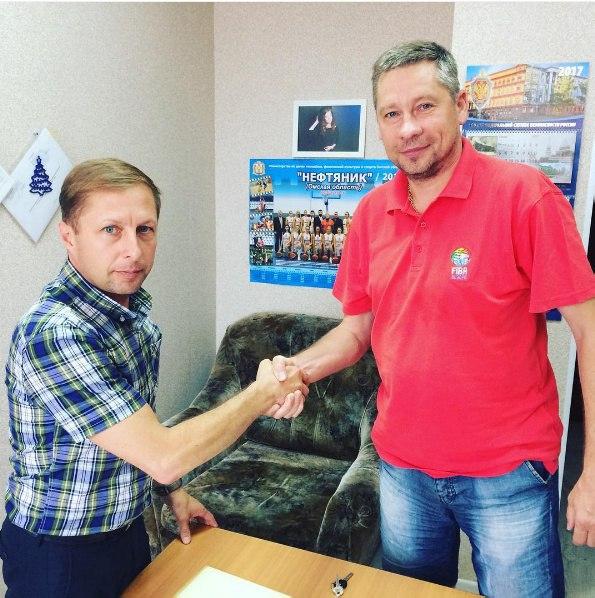 Владимир Гришанин договорился о сотрудничестве с «Омской областной федерацией баскетбола»