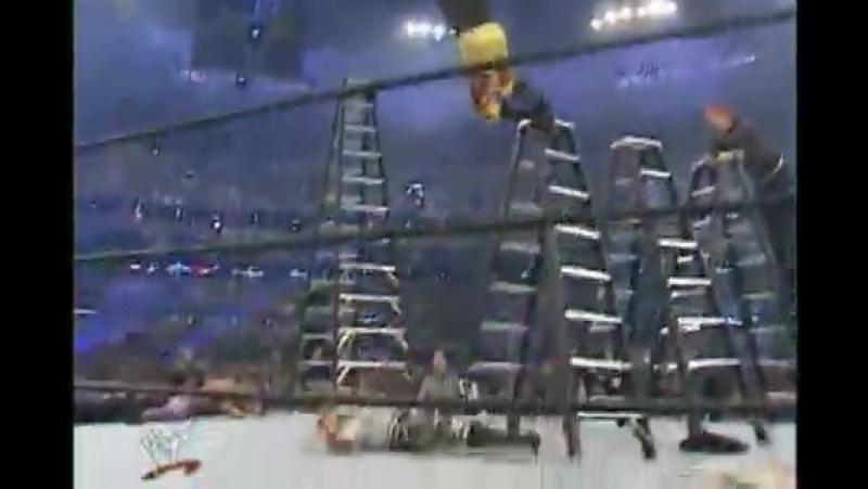 10. Братья Дадли против Эджа и Кристиана против братьев Харди; 1 апреля 2001 года; TLC матч 2 на 2 на 2; Wrestlemania 17