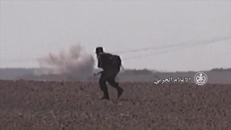 Сирия.28-06-2017.САА при поддержке ВКС ведет ожесточенные бои в районе авиабазы Т-2,на сирийско-иракской границе